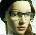 VINTAGE Nerd Rectangle Square Men Women Fashion Frame Clear Lens Eye Glasses NEW