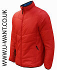 Regatta red ice-fall quilted lightweight jacket size M/L and XL  (1721)