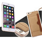 Luxury Leather Cell Phone Case Shell Cover Card Slot Protective For iPhone 6&6S