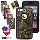 For iPhone 6 6s 6 plus ShockProof Hard Protective Hybrid Rugged Hard Camo Case