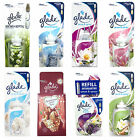 8 x GLADE SENSE AND SPRAY REFILLS AUTOMATIC AIR FRESHENER 8 SCENTS TO CHOOSE