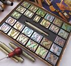 """Leather Stamp 1"""" TANDY Craftool  ALPHABET SET Single Replacement LETTER"""