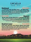 Two (2) Coachella WEEKEND 1 Tickets and Car Camping Pass April 14-16