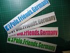 Polo.Friends.Germany | P.F.G | PFG | Aufkleber | Sticker 86c 2f 6n 9n 9r WRC G40