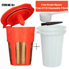 BRBHOM Reusable Disposable K Cup K Carafe Coffee Paper Filter Keurig 2.0 1.0