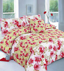 5 Piece Bedding Set Duvet Cover 5pc Bed In a Bag Single Double Super King Size