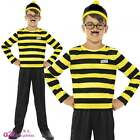 Where's Wally? Odlaw Kids Official Licensed Fancy Dress Costume World Book Day