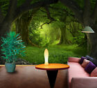 3D Deep Forest Trees 2081 Wallpaper Decal Dercor Home Kids Nursery Mural Home