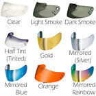 Motorcycle Shoei CWR-1 Visor Drilled Plugged - All Colours UK Seller