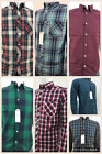Mens Ex-Next Long Sleeves YD Check Casual Summer Shirt 100% Cotton In 7 Patterns