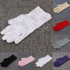 Ladies Women Gloves Lace Wrist Hand Wrap Full Finger Mittens Wedding Party New