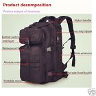 35L Hiking Camping Bag Army Military Backpack Sport Outdoor Travel Bag