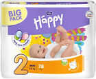 Happy Bella Baby Midi Windeln Gr. 2; 3; 4; 4+; 5; 6  Big Pack