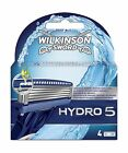 Wilkinson Sword Pack Of 4 Hydro 5 Refill Blades Shaving Razor Replacement Spare