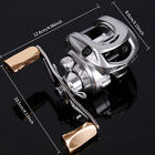 Left Right Handle Low-Profile Reel 10BB Baitcasting Fishing Reel
