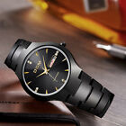Men High Quality watch fashion businessLuxury Tungsten Steel Quartz Wristwatch