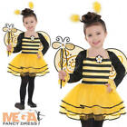 Ballerina Bumble Bee + Wings Girls Animal Fancy Dress Kids Bug Childs Costume