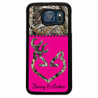 CAMO DEER CASE FOR SAMSUNG GALAXY S7 S6 S5 S4 CASE COVER HOT PINK PERSONALIZED