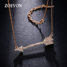 Women Vintage Arrow Pattern Pendant Choker Chunky Statement Bib Chain Necklace