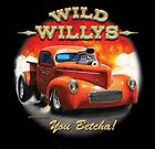 41 Willys Pickup Nostalgic Drag Racing Hot Rod T Shirt Big Tall Free Shipping