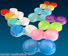 12 x Contact Lens Cases ~ Colour Coded Left Right, Soaking Lenses Storage Cases