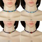 GIFT 1PC 2017 New High Quality Denim Leather Choker Necklace M21283