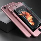 NEW HYBRID 360° HARD ULTRA THIN CASE + TEMPERED GLASS COVER FOR IPHONE X 7 8PLUS