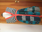 RINGSPUN HARBOUR MIST HOTCHPOTCH PATCHWORK LOOK DRESS NAVY GREEN CORAL 3 12 BNWT