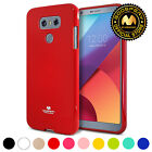 [IN-STOCK] for LG G6 Case,GOOSPERY Pearl Jelly Thin Protective TPU Bumper Cover