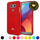 for LG G6 Case,GOOSPERY Pearl Jelly Glitter Ultra Slim Fit TPU Bumper Cover Case