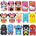 3D Cute Cartoon Kids Silicone Tablet Case For Samsung 7.0 Tab 3 T110 Tab 4 T230