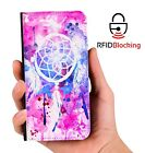 Dreamcatcher Watercolor Luxury Flip Cover Wallet Card PU Leather iPhone Case