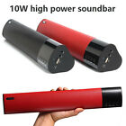 10W Column Portable Bluetooth Speakers For Phone Music Centre Soundbar Subwoofer