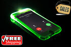 LED Flash Light UP Remind Slim TPU incoming Call Case For Apple iPhone 5 5S SE