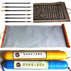 Chinese Japanese Calligraphy Brush Pen Set + Reusable Practice Paper