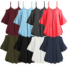 Women Summer Big Size Off Shoulder Short Sleeve T-Shirt Casual  Loose Top Blouse