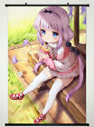 Miss Kobayashi's Dragon Maid Wall Scroll Poster Fabric Painting Kanna Kamui