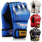 Kyпить Half Finger Sparring Boxing Training Gloves MMA Punching Leather  Mitts  на еВаy.соm