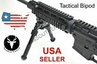 Rail Mount Adjustable Tactical Rifle Bipod 65 to 95 inch fits Picatinny Rail