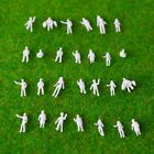 1:200 Scale Architectural White Model Figures People : Packs of 50, 100