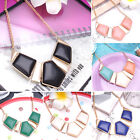Hot Fashion Charm Crystal Pendant Choker Chunky Statement Bib Necklace For Women
