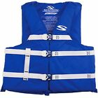 STEARNS ADULT MENS WOMENS LIFE VEST JACKET RED or BLUE SKI BOATING ~ 2X 3X  NEW