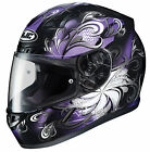 HJC Adult Purple/Black/White Cosmos CL-17 Full Face Motorcycle Helmet Snell DOT