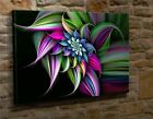 Extra Large Canvas Wall Art Picture Print Abstract Blue Red Yellow Green BK4