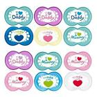 Mam  Style Soother   I Love Mummy/Daddy   age 6m+   boys or girls  bpa free