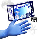 Vinyl Gloves Powder Free Blue Food Safe 100 Gloves Per Box Available in SM MED L