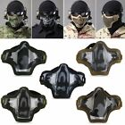 Latest Outdoor Sport Metal Mesh Half Face Mask COD Cosplay Airsoft Military