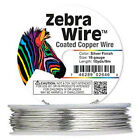 Zebra Wire - Silver Coated - various gauges