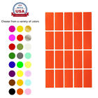 Color Coding Rectangle Labels School Office Project Quality Stickers 300 Pack