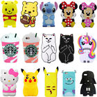 3d Cartoon Soft Silicone Phone Case Cover For Ipod Touch 5 6 Iphone 5 6 7 Plus